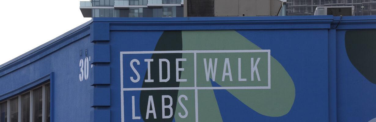 Google Sidewalk Labs, Toronto
